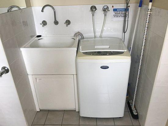 Heritage House Motel & Units: Waschmaschine und Trockner