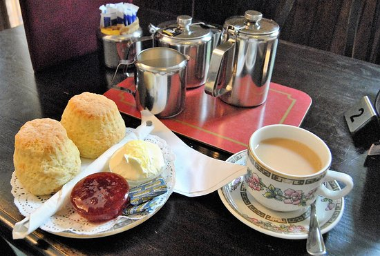 The Village Tea Rooms: Small and comfortable