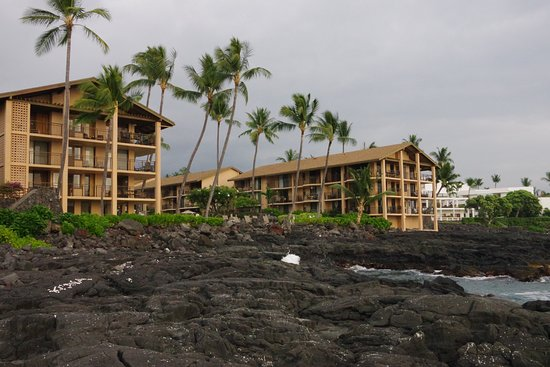 Kona Makai: From the ocean of the grounds/facility