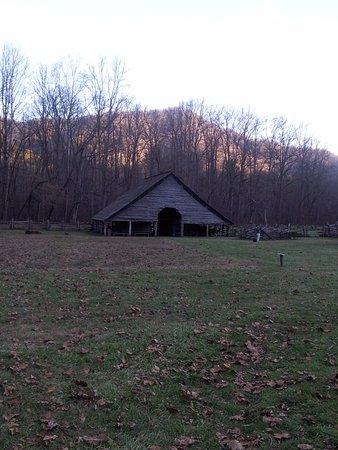 Mountain Farm Museum: mountains