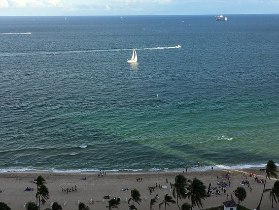 Marriott's BeachPlace Towers: View from room!!
