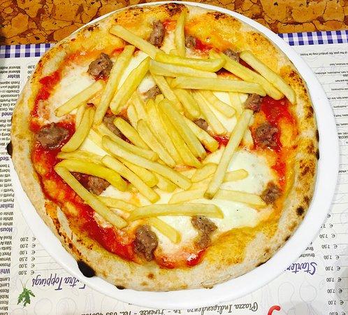 Pizza cotta a legna foto di il giardino di barbano firenze tripadvisor - Il giardino di barbano ...