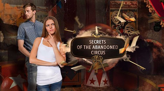 Warminster, Pensilvanya: Secrets of the Abandoned Circus Escape Game