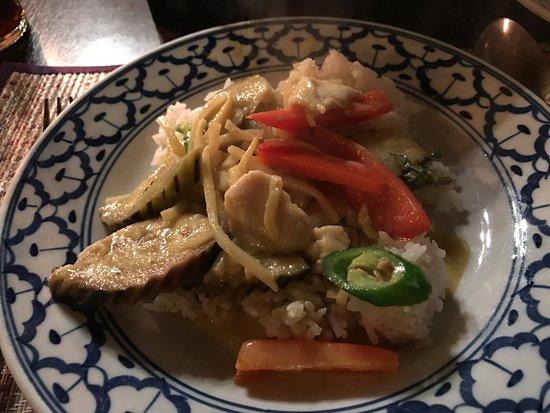 Ban Thai: Green curry
