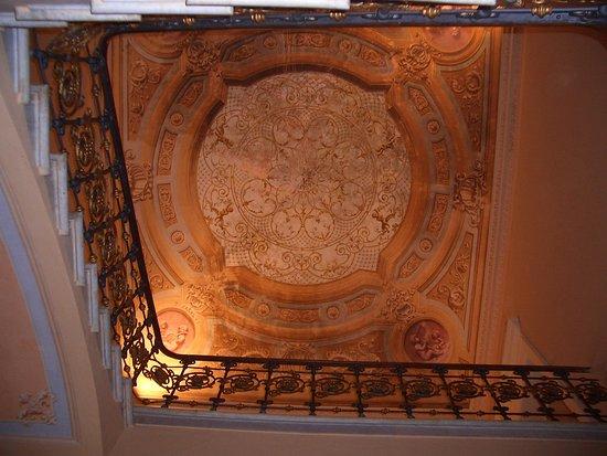 Nonantola, อิตาลี: soffitto vano scala
