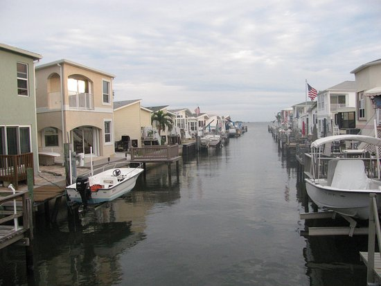 Jensen Beach, FL: one of the canals, really cool