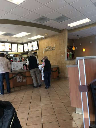 Folsom, CA: Food counter