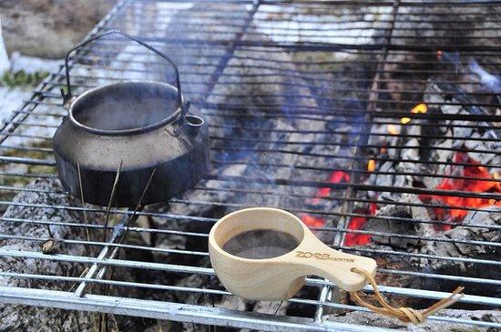 Hammarstrand, Suecia: Kaffe över öppen eld