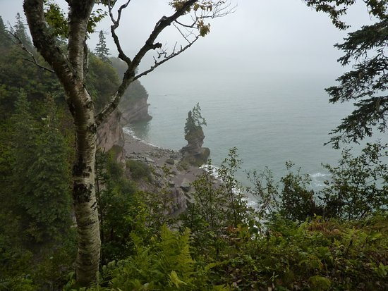 St. Martins, كندا: Fundy Trail Parkway Flowerpot Stop