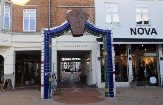 Hjoerring, Denmark: Indgangen fra Østergade