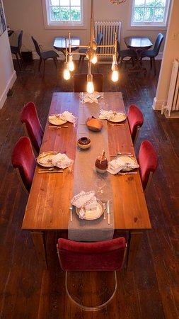 Kingston, NY: Guest dining area