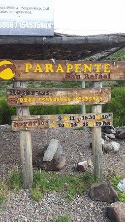 Parapente San Rafael