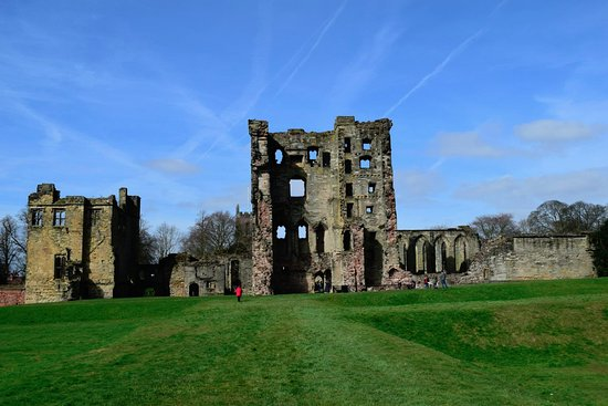 Ashby-de-la-Zouch, UK: The ruins of the castle.