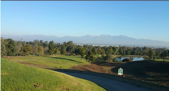 Chino Hills, Kalifornien: View from the 6 hole.