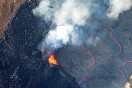 Вайколоа, Гавайи: Kilauea's active caldera
