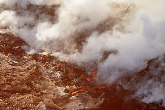 Вайколоа, Гавайи: Kilauea's lava flow
