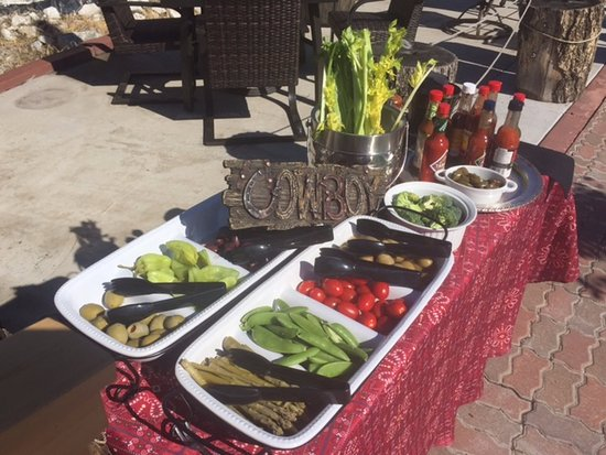 Trimmings for Signature Bloody Mary Bar- Three Forks Rodeo Special Event