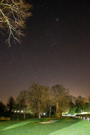 Barham, UK: Golf Course at night