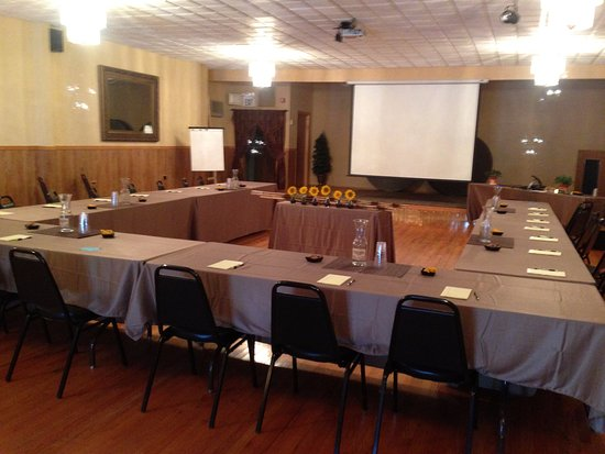 Three Forks, MT: Conference setup in The Grand Ballroom - Call for Availability!