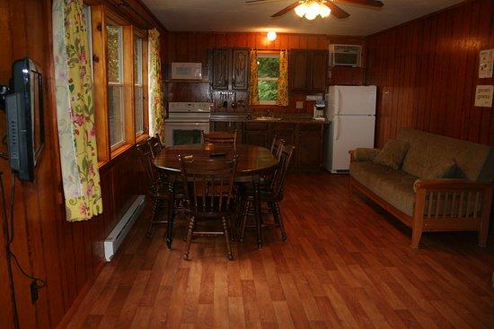 Bolton Landing, Estado de Nueva York: Two bedroom hillside cottage #18