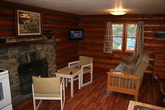 Candlelight Cottages LLC on Lake George: Two bedroom hillside log cabin #5