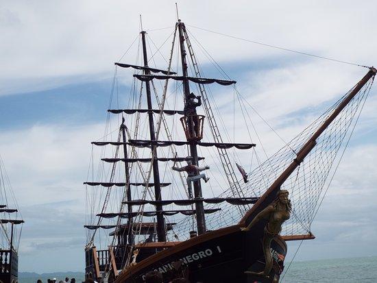 Canasvieiras, SC: Passeio de Barco. Corsário Negro .