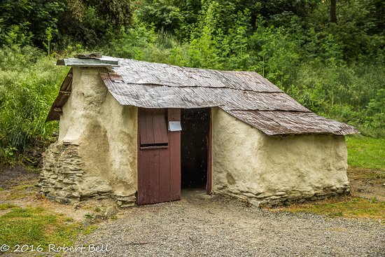 Arrowtown, Nieuw-Zeeland: One of the Chinese huts