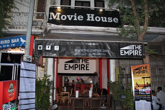 The Empire Movie House (now located inside SPLASH BAR) : Empire Movie House