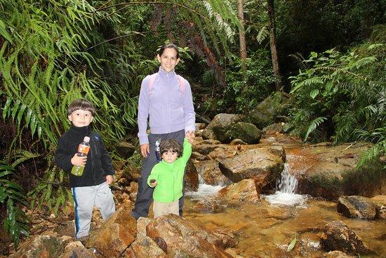 Parque Nacional La Tigra: rio