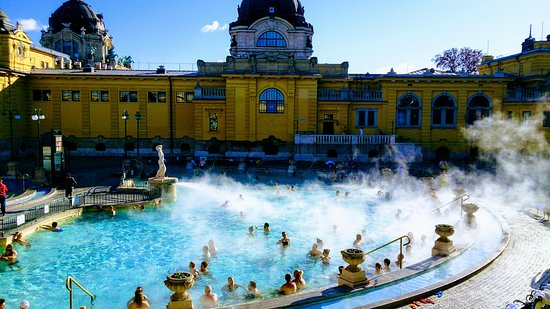 Széchenyi Baths and Swimming Pools - Picture of Szechenyi Baths ...