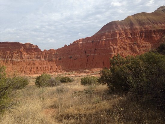 Awesome hiking in Palo Duro canyon! Great weather and beautiful scenery.