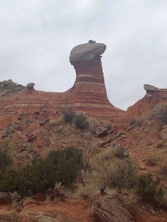 Palo Duro Canyon State Park: Awesome hiking in Palo Duro canyon! Great weather and beautiful scenery.