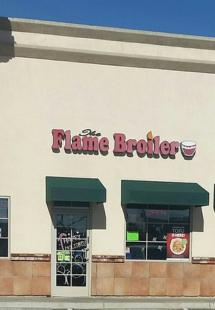 La Habra, Californien: Flame Broiler