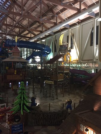 Great Wolf Lodge: Water park.