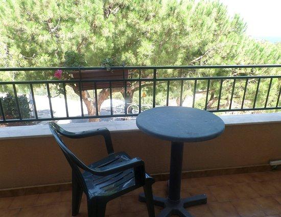 Hotel Al Pescatore: Our balcony