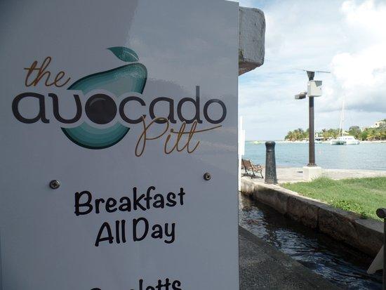 Avocado Pitt: BREAKFAST ALL DAY TOO!
