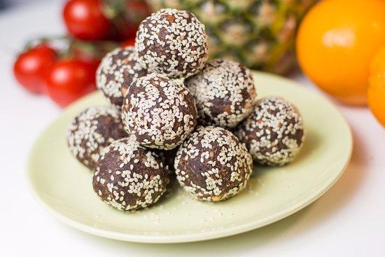 Condado de Dublín, Irlanda: Vegan Karob Balls
