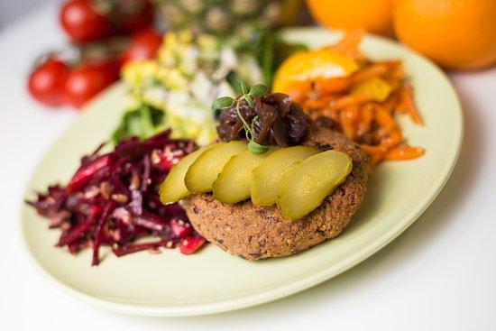 County Dublin, Irland: Vegan Burger Special