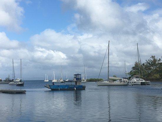Daku Resort: the bay in town