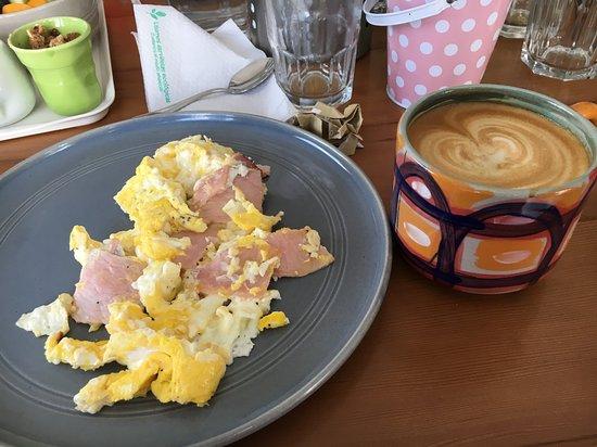 Excelente lugar para desayunar en Miraflores