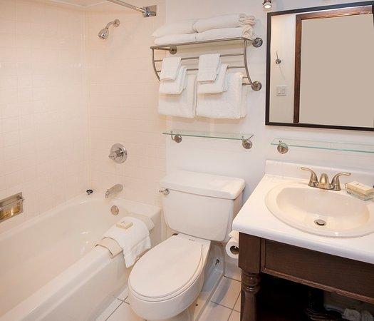 Vail Run Resort : Studio bathroom