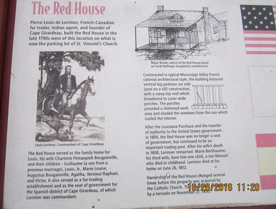 Cape Girardeau, MO: A bit of History of the Red House