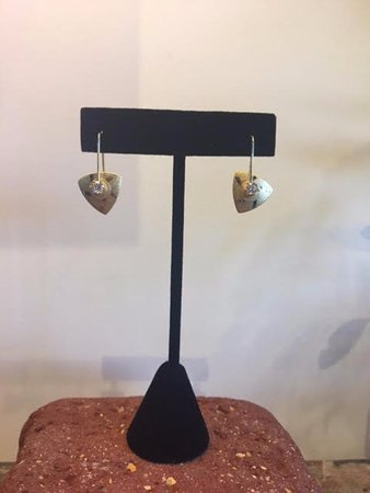 Solana Beach, Kalifornien: Handcrafted Sterling Silver Earrings