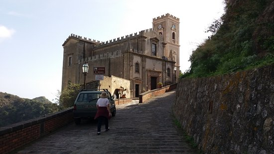 Savoca, Italy: view of the church