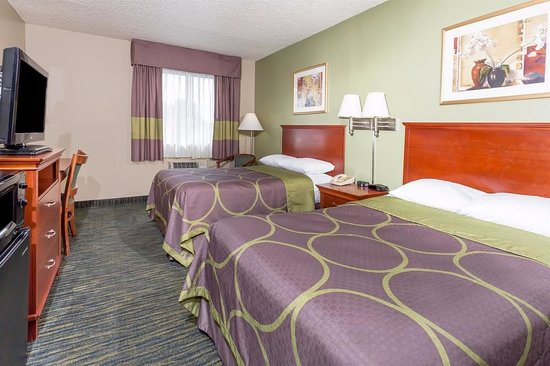 Super 8 Panama City: 2 Double Bed Room