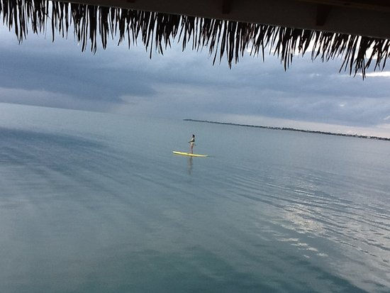 Naia Resort and Spa: Paddle boarding... early morning on the sea.