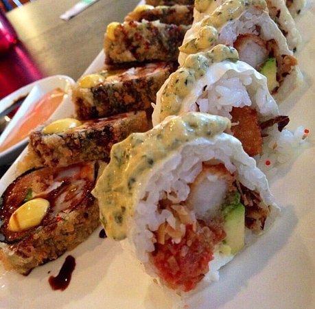 Kamiko Sushi Bar : Unique sushi with a Latin kick