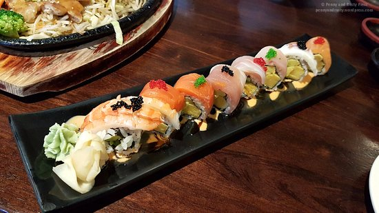 Burnaby, Canada: Rainbow Roll