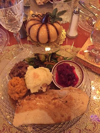 Torrington, Κονέκτικατ: Thanksgiving dinner.