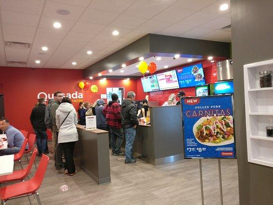 Τζορτζτάουν, Καναδάς: Inside Restaurant